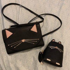 Kate spade crossbody and change purse!